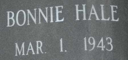 HALE, BONNIE - Bledsoe County, Tennessee | BONNIE HALE - Tennessee Gravestone Photos