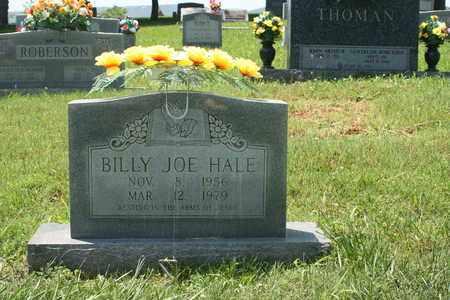 HALE, BILLY JOE - Bledsoe County, Tennessee   BILLY JOE HALE - Tennessee Gravestone Photos