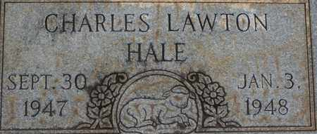 HALE, CHARLES LAWTON - Bledsoe County, Tennessee   CHARLES LAWTON HALE - Tennessee Gravestone Photos