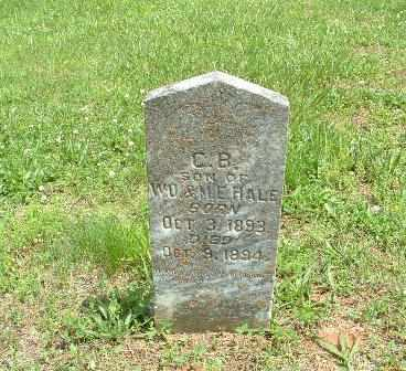 HALE, C.B. - Bledsoe County, Tennessee | C.B. HALE - Tennessee Gravestone Photos