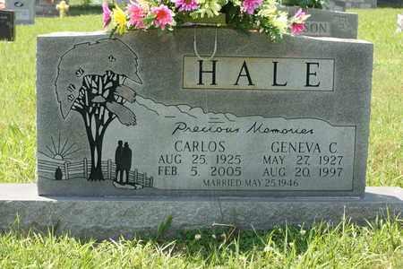 HALE, GENEVA C. - Bledsoe County, Tennessee | GENEVA C. HALE - Tennessee Gravestone Photos