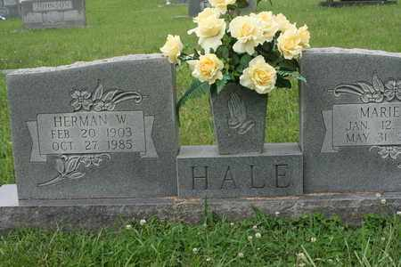 HALE, MARIE - Bledsoe County, Tennessee | MARIE HALE - Tennessee Gravestone Photos
