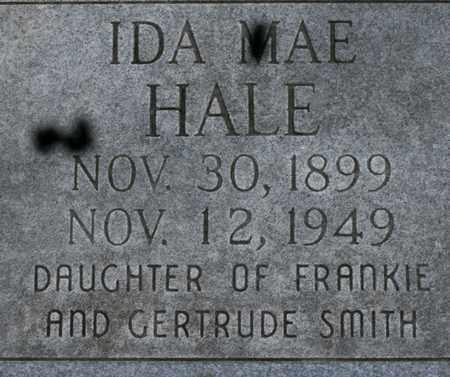 HALE, IDA MAE - Bledsoe County, Tennessee | IDA MAE HALE - Tennessee Gravestone Photos