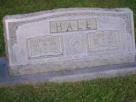 HALE, LAURA LEE - Bledsoe County, Tennessee | LAURA LEE HALE - Tennessee Gravestone Photos