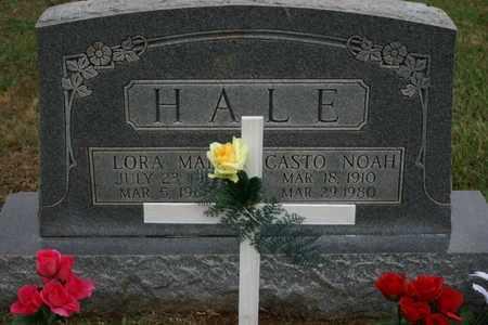 HALE, CASTO NOAH - Bledsoe County, Tennessee | CASTO NOAH HALE - Tennessee Gravestone Photos