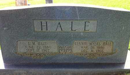 HALE, LOUCIOUS MOSES - Bledsoe County, Tennessee | LOUCIOUS MOSES HALE - Tennessee Gravestone Photos