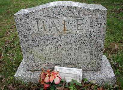 HALE, LILLIE FAYE - Bledsoe County, Tennessee | LILLIE FAYE HALE - Tennessee Gravestone Photos