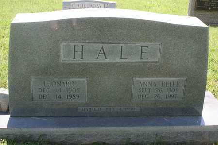 HALE, ANNA BELLE - Bledsoe County, Tennessee | ANNA BELLE HALE - Tennessee Gravestone Photos