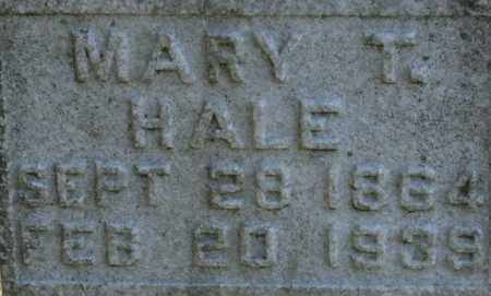 HALE, MARY T. - Bledsoe County, Tennessee | MARY T. HALE - Tennessee Gravestone Photos