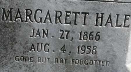HALE, MARGARETT - Bledsoe County, Tennessee   MARGARETT HALE - Tennessee Gravestone Photos