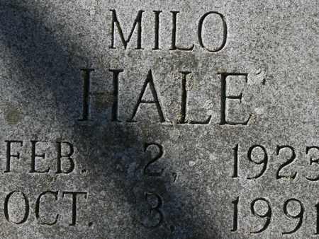 HALE, MILO - Bledsoe County, Tennessee   MILO HALE - Tennessee Gravestone Photos