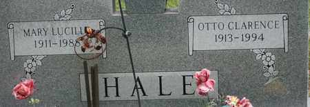 HALE, MARY LUCILLE - Bledsoe County, Tennessee | MARY LUCILLE HALE - Tennessee Gravestone Photos