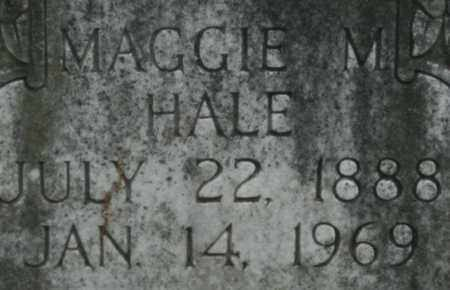 HALE, MAGGIE M. - Bledsoe County, Tennessee | MAGGIE M. HALE - Tennessee Gravestone Photos