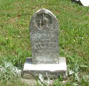 HALE, MARGARET A. - Bledsoe County, Tennessee | MARGARET A. HALE - Tennessee Gravestone Photos