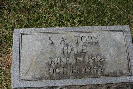 HALE, S.A. TOBY - Bledsoe County, Tennessee | S.A. TOBY HALE - Tennessee Gravestone Photos