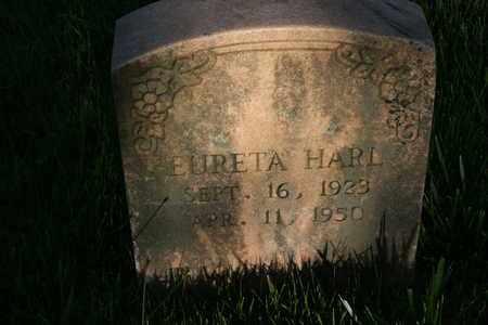 HARL, EURETA - Bledsoe County, Tennessee | EURETA HARL - Tennessee Gravestone Photos