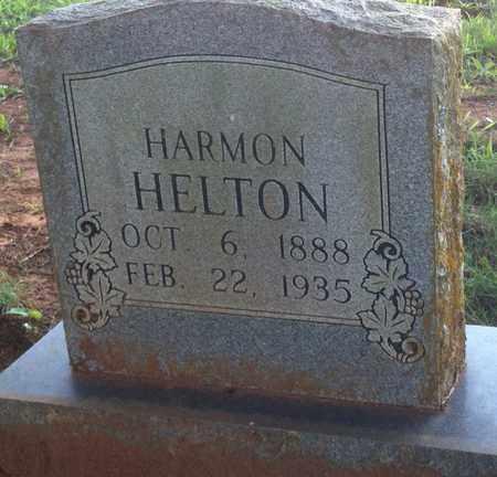 HELTON, HARMON - Bledsoe County, Tennessee | HARMON HELTON - Tennessee Gravestone Photos