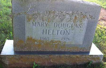 HELTON, MARY - Bledsoe County, Tennessee | MARY HELTON - Tennessee Gravestone Photos