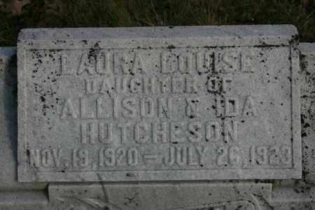 HUTCHERSON, LAURA LOUISE - Bledsoe County, Tennessee | LAURA LOUISE HUTCHERSON - Tennessee Gravestone Photos