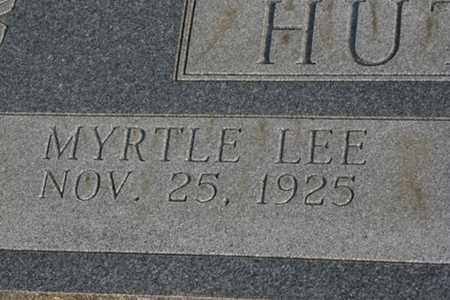 HUTCHERSON, MYRTLE LEE - Bledsoe County, Tennessee | MYRTLE LEE HUTCHERSON - Tennessee Gravestone Photos