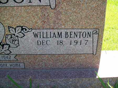 HUTCHERSON, WILLIAM BENTON - Bledsoe County, Tennessee | WILLIAM BENTON HUTCHERSON - Tennessee Gravestone Photos