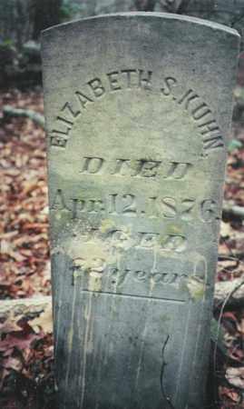 KUHN, ELIZABETH S. - Bledsoe County, Tennessee   ELIZABETH S. KUHN - Tennessee Gravestone Photos