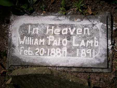 LAMB, WILLIAM PALO - Bledsoe County, Tennessee | WILLIAM PALO LAMB - Tennessee Gravestone Photos