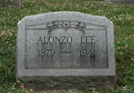 LEE, ALONZO EDWARD - Bledsoe County, Tennessee | ALONZO EDWARD LEE - Tennessee Gravestone Photos