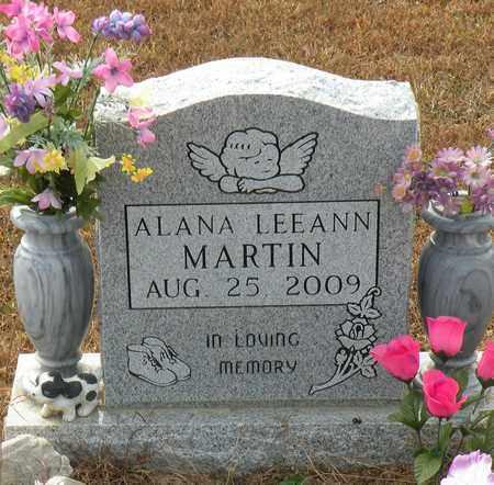 MARTIN, ALANA LEEANN - Bledsoe County, Tennessee | ALANA LEEANN MARTIN - Tennessee Gravestone Photos