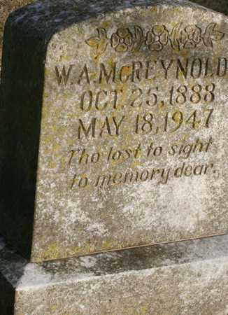 MCREYNOLDS, WILLIAM ALEXANDER - Bledsoe County, Tennessee | WILLIAM ALEXANDER MCREYNOLDS - Tennessee Gravestone Photos