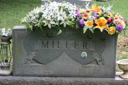 MILLER, BARTON G. - Bledsoe County, Tennessee | BARTON G. MILLER - Tennessee Gravestone Photos
