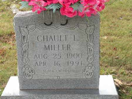 MILLER, CHAULT L. - Bledsoe County, Tennessee | CHAULT L. MILLER - Tennessee Gravestone Photos