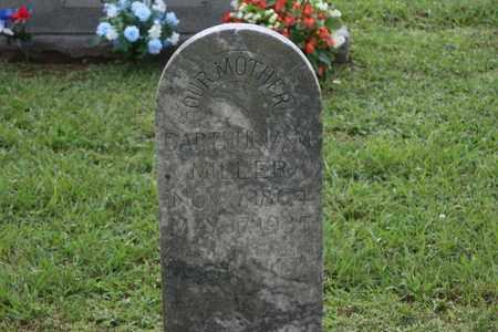 MILLER, DARTHULIA - Bledsoe County, Tennessee | DARTHULIA MILLER - Tennessee Gravestone Photos