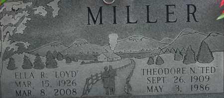 MILLER, ELLA R. - Bledsoe County, Tennessee | ELLA R. MILLER - Tennessee Gravestone Photos