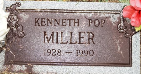 MILLER, KENNETH - Bledsoe County, Tennessee | KENNETH MILLER - Tennessee Gravestone Photos