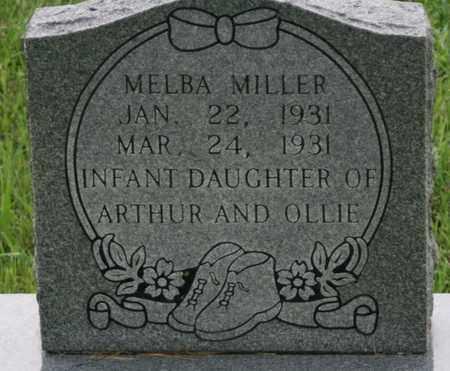 MILLER, MELBA - Bledsoe County, Tennessee | MELBA MILLER - Tennessee Gravestone Photos