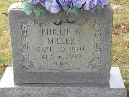 MILLER, PHILLIP B. - Bledsoe County, Tennessee | PHILLIP B. MILLER - Tennessee Gravestone Photos
