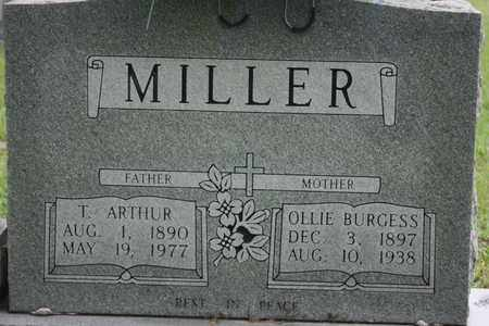 MILLER, OLLIE - Bledsoe County, Tennessee | OLLIE MILLER - Tennessee Gravestone Photos