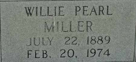MILLER, WILLIE PEARL - Bledsoe County, Tennessee | WILLIE PEARL MILLER - Tennessee Gravestone Photos