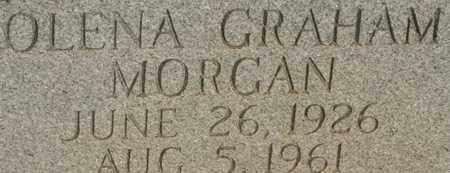 MORGAN, OLENA GRAHAM - Bledsoe County, Tennessee | OLENA GRAHAM MORGAN - Tennessee Gravestone Photos