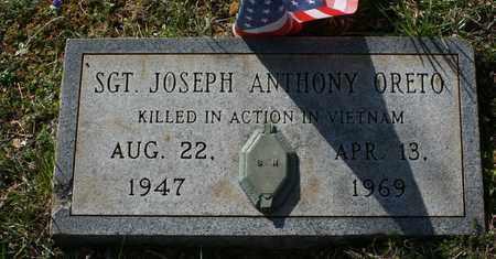 ORETO (VETERAN VIET), JOSEPH ANTHONY - Bledsoe County, Tennessee | JOSEPH ANTHONY ORETO (VETERAN VIET) - Tennessee Gravestone Photos