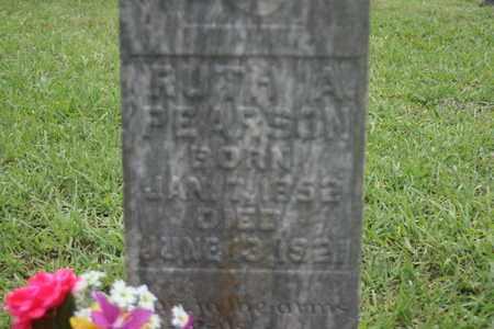 PEARSON, RUTH ANN - Bledsoe County, Tennessee   RUTH ANN PEARSON - Tennessee Gravestone Photos