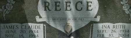 REECE, INA RUTH - Bledsoe County, Tennessee   INA RUTH REECE - Tennessee Gravestone Photos