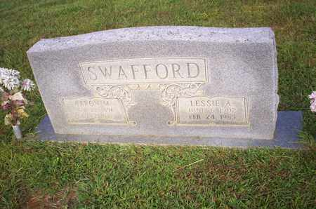 SWAFFORD, LESSIE A. - Bledsoe County, Tennessee | LESSIE A. SWAFFORD - Tennessee Gravestone Photos