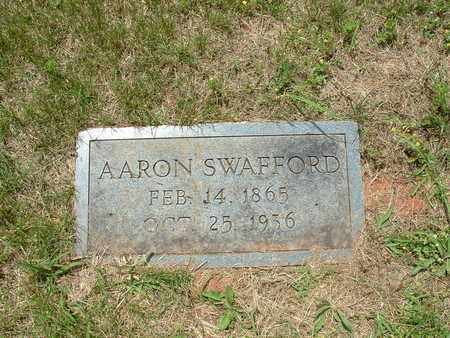 SWAFFORD, AARON - Bledsoe County, Tennessee | AARON SWAFFORD - Tennessee Gravestone Photos