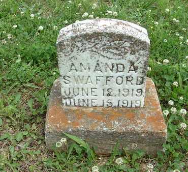 SWAFFORD, AMANDA ANN - Bledsoe County, Tennessee | AMANDA ANN SWAFFORD - Tennessee Gravestone Photos