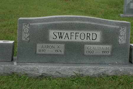 SWAFFORD, AARON A. - Bledsoe County, Tennessee | AARON A. SWAFFORD - Tennessee Gravestone Photos