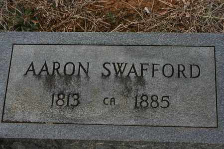 SWAFFORD, AARON W. - Bledsoe County, Tennessee | AARON W. SWAFFORD - Tennessee Gravestone Photos