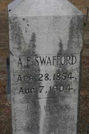 SWAFFORD, AARON ERASMUS - Bledsoe County, Tennessee | AARON ERASMUS SWAFFORD - Tennessee Gravestone Photos