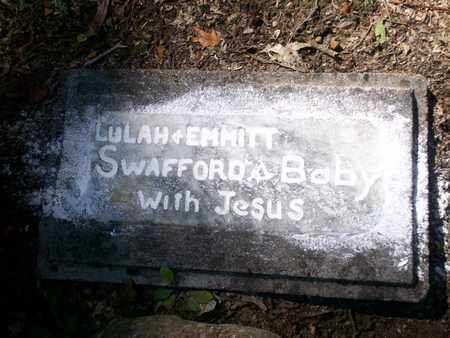 SWAFFORD, BABY - Bledsoe County, Tennessee | BABY SWAFFORD - Tennessee Gravestone Photos